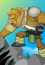Bear Warrior A