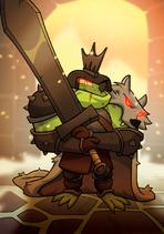 Giant Sword Frog B