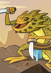 Horned Lizard A