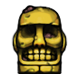 Worn Idol Badge