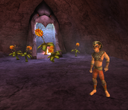 Sphinx and Explosive Flower