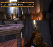 Sphinx using the Standard Darts