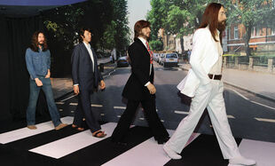 Beatles-abbey-road-waxworks-unveiled-at-madame-tussauds-in-new-york-556568632