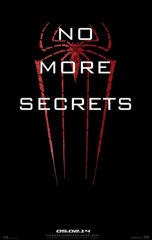 "File:The Amazing Spider-Man 2 - ""No More Secrets"" - Poster.jpg"