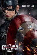 Captain America Civil War (2016) Poster - Team Captain America