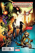 Guardians of the Galaxy Vol. 4 -6 Story Thus Far Variant