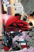 Spider-Girl VS Red Hulk