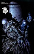 Vulture & Grim Reaper held captive by Captain America