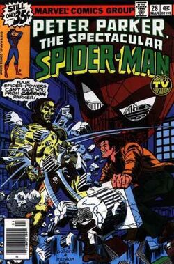 Peter Parker, The Spectacular Spider-Man Vol 1 28