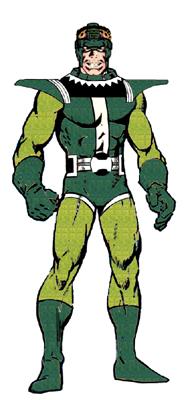 Sandman's Frightful Four costume