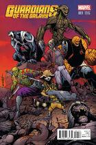 Guardians of the Galaxy Vol. 4 -1 Schiti Variant