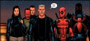The Thunderbolts in thier civilian attire