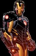Tony Stark (Earth-616) in Black Armor