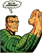 Sandman is proud to be an Avenger