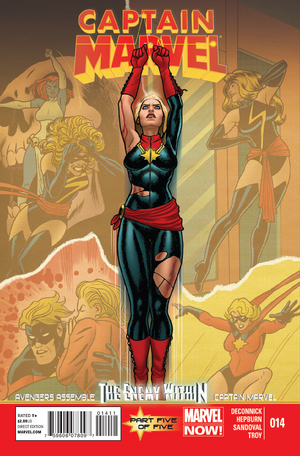 Captain Marvel Vol. 7 -14