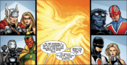 The Secret Avengers prepare to take on the Phoenix Force