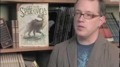 """Tony DiTerlizzi and """"Arthur Spiderwick's Fantastical Field Guide""""-1"""