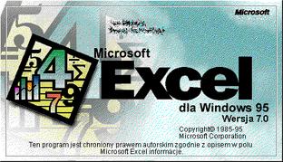 Windows excel 95