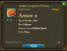 Amber Leopard of Uraza