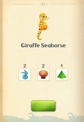 Giraffe Seahorse§Aquapedia