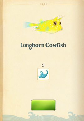 Longhorn Cowfish§Aquapedia