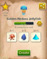 Golden Medusa Jellyfish§Aquapedia.png