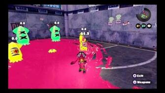 Splatoon Slosher Training Area