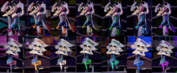 Squid Sisters Splatfest Colors