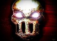 Terror mask paint