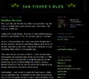 Sam Fisher's Blog
