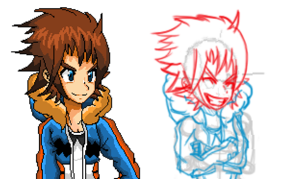 Tai Z. Takara character portrait sprites -Tigzon Remixed-