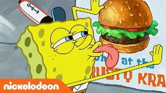 SpongeBob SquarePants 'I Love Krabby Patties' Ultimate Love Song Music Video Nick
