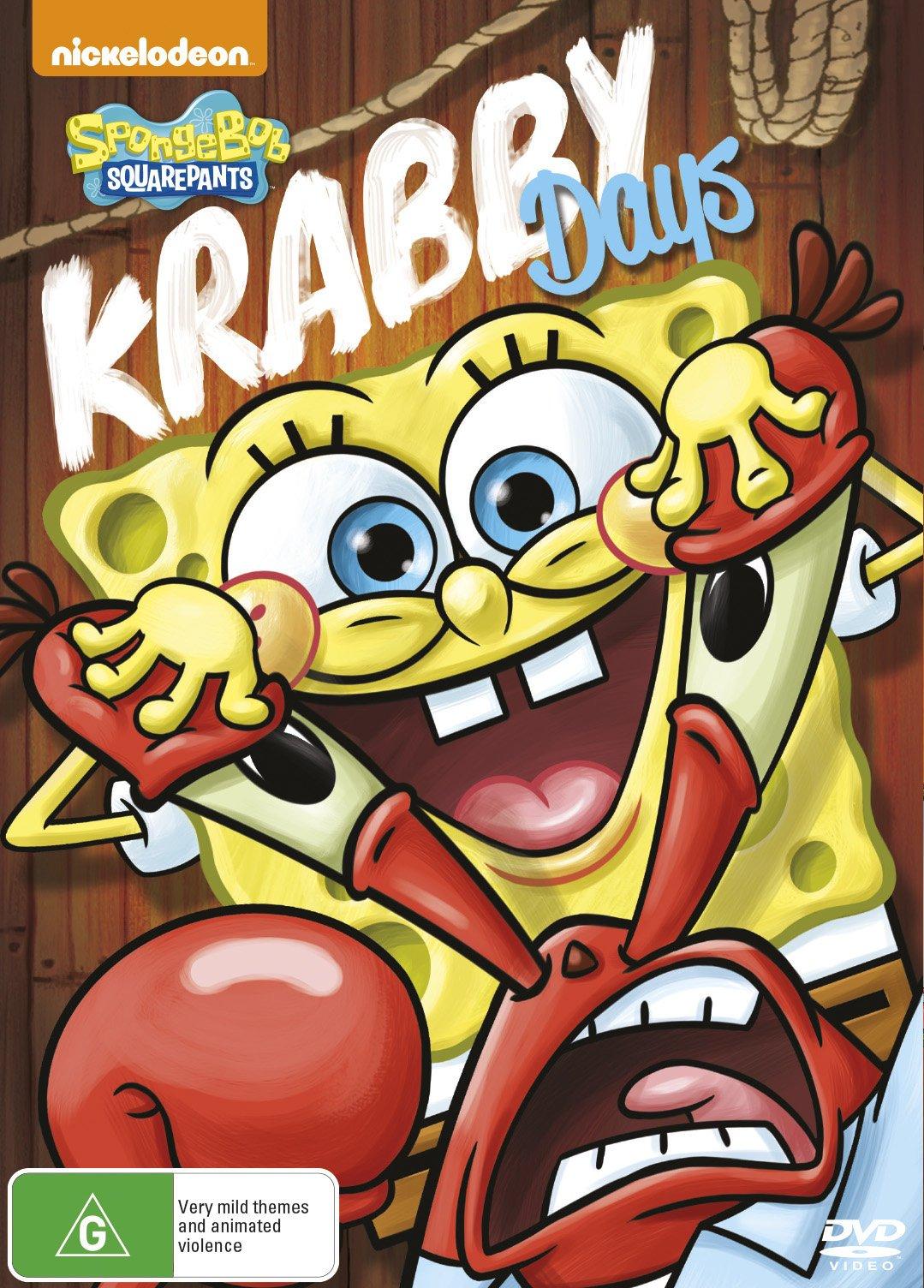 File:Krabby Days DVD Australian.jpg