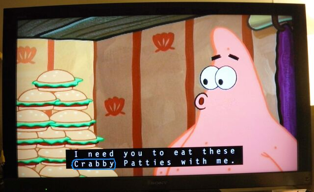 File:Krusty Towers - Closed-Captions error.jpg