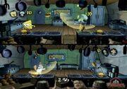 3d Spongebob, 3d Squidward, 3d Sandy, & 3d Sheldon2