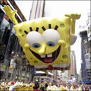SpongeBob Macy's
