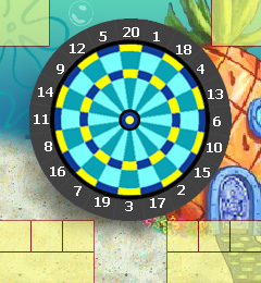 Spongebob Squarepants- Darts Screenshot