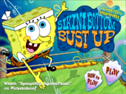 Spongebob Squarepants Bikini Bottom Bust Up menu