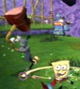 3d Spongebob & 1 Villain