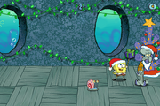 Squidward's Sneak Peek - SpongeBob gets the gift