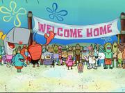 Larry the Lobster in SpongeBob SquarePants vs. The Big One