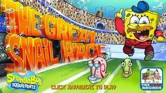 SpongeBob SquarePants The Great Snail Race - Choose Your Favorite Snail (Gameplay)