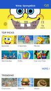 Wikia SpongeBob Fan App 001