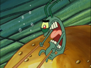 Plankton in Krusty Krab Training Video-7