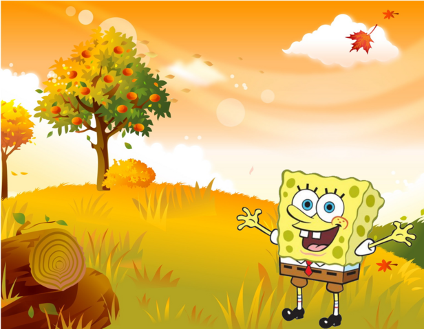 File:SpongeBobFallBackground.png