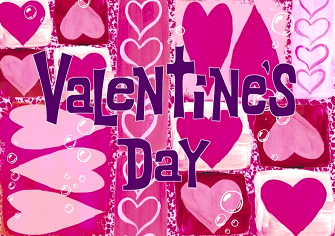 Valentines Day Encyclopedia SpongeBobia – Spongebob Valentines Day Card