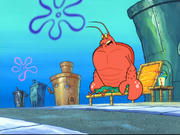 Larry the Lobster in The Abrasive Side-8