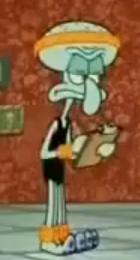 Squidward in dancing