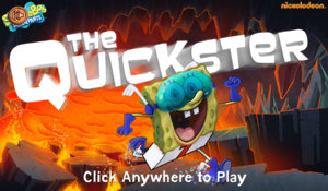 The Quickster new title screen