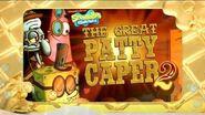 SpongeBob SquarePants Goodbye Krabby Patty Asian Promo No3 - Krabby Patty Games